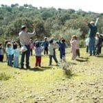 Visita escolar encinar de Escardiel 2019