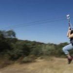Tirolina, campamento Encinar de Escardiel 2019 -2