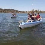 En kayak, encinar de Escardiel 2019 -6