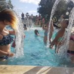 Campamento de verano encinar de Escardiel piscina