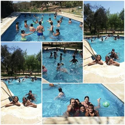 Campamento de verano Encinar de Escardiel piscina-3