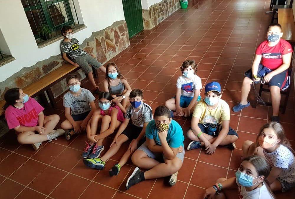 Uso de la mascarilla en nuestros campamentos